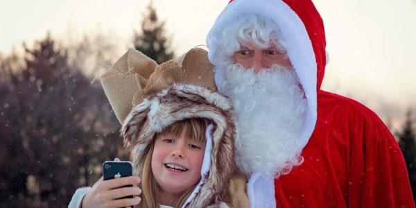 Der Weihnachtsmann in Forst